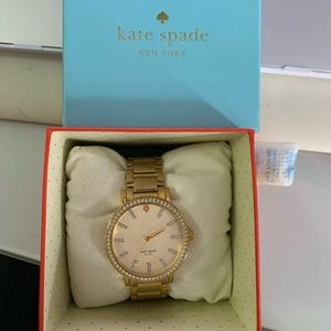 KATE SPADE GOLD GRAMERCY WATCH - Lightly Used